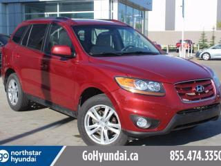 Used 2011 Hyundai Santa Fe PREM AWD SUNROOF ALLOYS for sale in Edmonton, AB