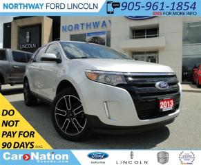 Used 2013 Ford Edge SEL | NAV | AWD | REAR CAM | for sale in Brantford, ON