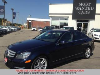 Used 2013 Mercedes-Benz C 300 4Matic NAVIGATION | TAN LTHR | XENON LIGHTS for sale in Kitchener, ON