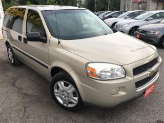 Used 2007 Chevrolet Uplander LS/AUTO/7PASS/CAPTAIN SEATS/V.CLEAN for sale in Scarborough, ON