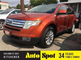 Used 2007 Ford Edge SEL/TOP OF THE LINE/PRICED FOR A QUICK SALE! for sale in Kitchener, ON