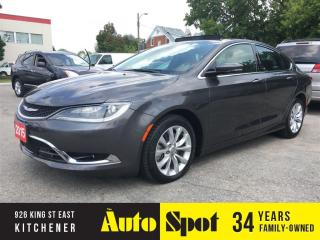 Used 2015 Chrysler 200 C/TOP OF THE LINE/PRICED FOR A QUICK SALE! for sale in Kitchener, ON