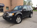 Used 2011 Ford Escape XLT - 3.0L V6 - LEATHER - BLUETHOOTH - POWER SEAT for sale in Aurora, ON