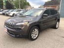Used 2015 Jeep Cherokee Limited  4X4  LEATHER, NAV., for sale in Belmont, ON