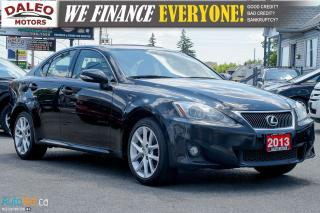 Used 2013 Lexus IS 250 AWD | SUNROOF | ALLOYS | ** NEW PRICE! ** for sale in Hamilton, ON