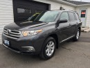 Used 2012 Toyota Highlander for sale in Kingston, ON