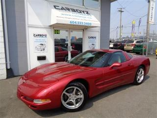 Used 2004 Chevrolet Corvette Only 70,213 Kms!! Extra Clean!! No Accidents for sale in Langley, BC