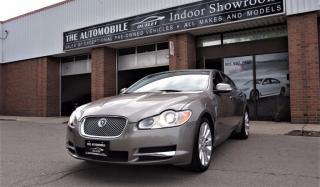 Used 2009 Jaguar XF Premium Luxury NAVI BACK-UP NO ACCIDENT for sale in Mississauga, ON