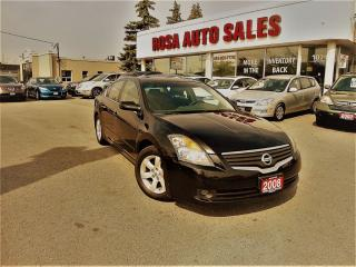 Used 2008 Nissan Altima AUTO 4DR ALLOY NO ACCIDENT PW PL PM A/C PUSH START for sale in Oakville, ON