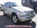 Used 2005 Mercedes-Benz ML-Class for sale in Calgary, AB