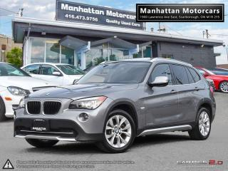 Used 2012 BMW X1 28i X-DRIVE |NAV|PANO|BLUETOOTH|XENON|NO ACCIDENTS for sale in Scarborough, ON