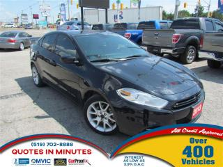 Used 2013 Dodge Dart SXT | BACKUP CAM | BLUETOOTH | SAT RADIO for sale in London, ON