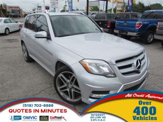 Used 2014 Mercedes-Benz GLK-Class 250   BlueTEC 4MATIC   NAV   LEATHER   DIESEL for sale in London, ON