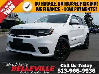 Used 2017 Jeep Grand Cherokee SRT-GPS-Dual Pane Sunroof-Remote Start for sale in Belleville, ON