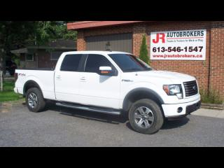 Used 2011 Ford F-150 5.0L FX4 Supercrew - Leather & Sunroof for sale in Elginburg, ON
