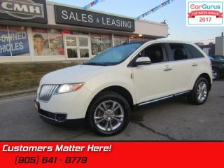 Used 2013 Lincoln MKX AWD, NAVIGATION, PANORAMIC ROOF, CAMERA for sale in St Catharines, ON