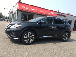 Used 2016 Nissan Murano Platinum, ACC, BSM, Nav, Heated/Vented Seats!! for sale in Surrey, BC