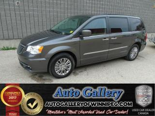 Used 2016 Chrysler Town & Country Touring*Ltr/Roof/Nav for sale in Winnipeg, MB