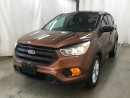 Used 2017 Ford Escape S *Backup Camera! for sale in Winnipeg, MB
