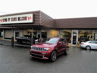 Used 2016 Jeep Grand Cherokee SRT8 for sale in Langley, BC
