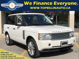 Used 2008 Land Rover Range Rover Supercharged, Fully Loaded, 107K kms for sale in Concord, ON