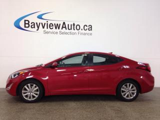 Used 2016 Hyundai Elantra SPORT- ALLOYS! SUNROOF! REV CAM! CRUISE! BLUTOOTH! for sale in Belleville, ON