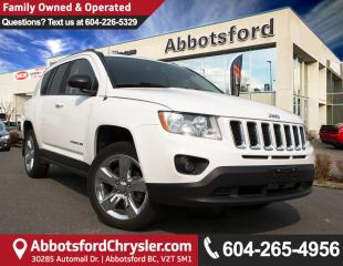 Used 2012 Jeep Compass Limited LOCALLY OWNED! for sale in Abbotsford, BC