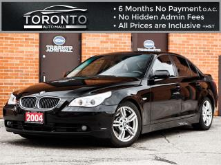 Used 2004 BMW 545i i+6 Speed+Sunroof+4.4L Engine+Heated seats for sale in North York, ON