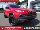 Used 2017 Jeep Cherokee Trailhawk *ACCIDENT FREE*ONE OWNER* for sale in Surrey, BC