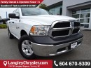Used 2017 Dodge Ram 1500 ST *ACCIDENT FREE *ONE OWNER* DEALER CERTIFIED * for sale in Surrey, BC