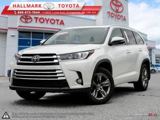 Used 2017 Toyota Highlander LIMITED AWD for sale in Mono, ON