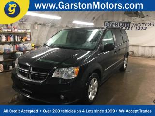 Used 2016 Dodge Grand Caravan CREW PLUS*DUAL REAR DVD PLAYER*LEATHER*U CONNECT PHONE*DUAL ROW STOW N GO*BACK UP CAMERA*POWER SLIDING DOORS/REAR LIFT GATE*KEYLESS ENTRY for sale in Cambridge, ON