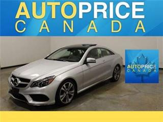 Used 2014 Mercedes-Benz E-Class E350 4MATIC NAVI PANOROOF for sale in Mississauga, ON