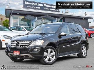Used 2010 Mercedes-Benz ML 350 ML350 4MATIC DIESEL |NAV|CAMERA|ROOF|PHONE for sale in Scarborough, ON