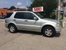 Used 2001 Mercedes-Benz ML 320 SHIPPER'S SPECIAL,7PASSENGERS,$2388, for sale in North York, ON