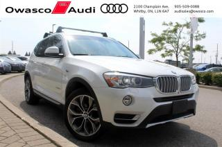 Used 2015 BMW X3 xDrive28d w/ Front & Rear View Camera for sale in Whitby, ON
