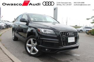 Used 2014 Audi Q7 quattro Technik S-Line w/ Seat & Sky Package for sale in Whitby, ON