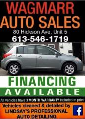 Used 2010 Nissan Versa 1.8 S for sale in Kingston, ON