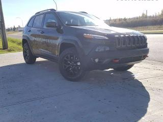 Used 2017 Jeep Cherokee Trailhawk 4X4 for sale in Edmonton, AB