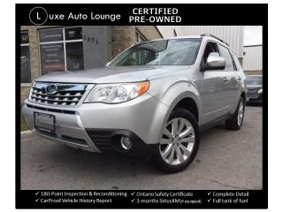 Used 2011 Subaru Forester X Touring - SUNROOF, LEATHER, 5-SPEED!, XM RADIO! for sale in Orleans, ON
