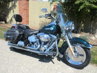 Used 2002 Harley-Davidson Heritage Softail Classic FLSTC HERITAGE for sale in Blenheim, ON