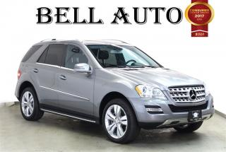 Used 2011 Mercedes-Benz ML-Class ML350 4MATIC NAVIGATION BACK UP CAMERA for sale in North York, ON