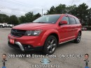 Used 2015 Dodge Journey Crossroad...JOURNEY TO WHERE THE ROAD TAKES YOU!!! for sale in Stoney Creek, ON