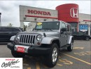 Used 2013 Jeep Wrangler Unlimited Sahara, navi, low kms, clean carproof for sale in Scarborough, ON
