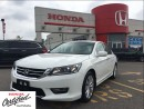 Used 2013 Honda Accord Sedan EX-L, one owner, clean carproof low mileage for sale in Scarborough, ON