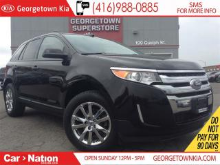 Used 2013 Ford Edge SEL   ONLY 44,648KMS   PANORAMIC SUNROOF   for sale in Georgetown, ON