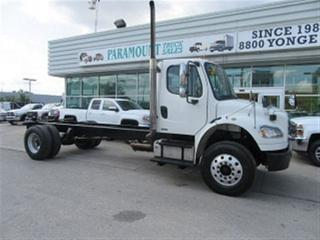 Used 2009 Freightliner M2106 Cummins diesel cab & chassis for sale in Richmond Hill, ON
