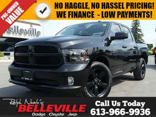 Used 2016 Dodge Ram 1500 Blacktop Crew CAB - ONE Owner - Back UP CAM - for sale in Belleville, ON