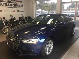 Used 2013 Audi A4 2.0T for sale in Coquitlam, BC