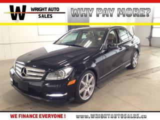 Used 2013 Mercedes-Benz C-Class 4MATIC|NAVIGATION| LEATHER|SUNROOF|90,320 KMS for sale in Cambridge, ON
